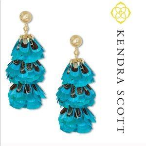 •Kendra Scott• Lenni Feather Earrings